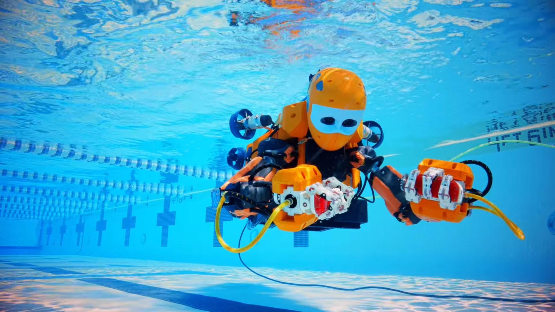 OceanOne – a waterproof humanoid