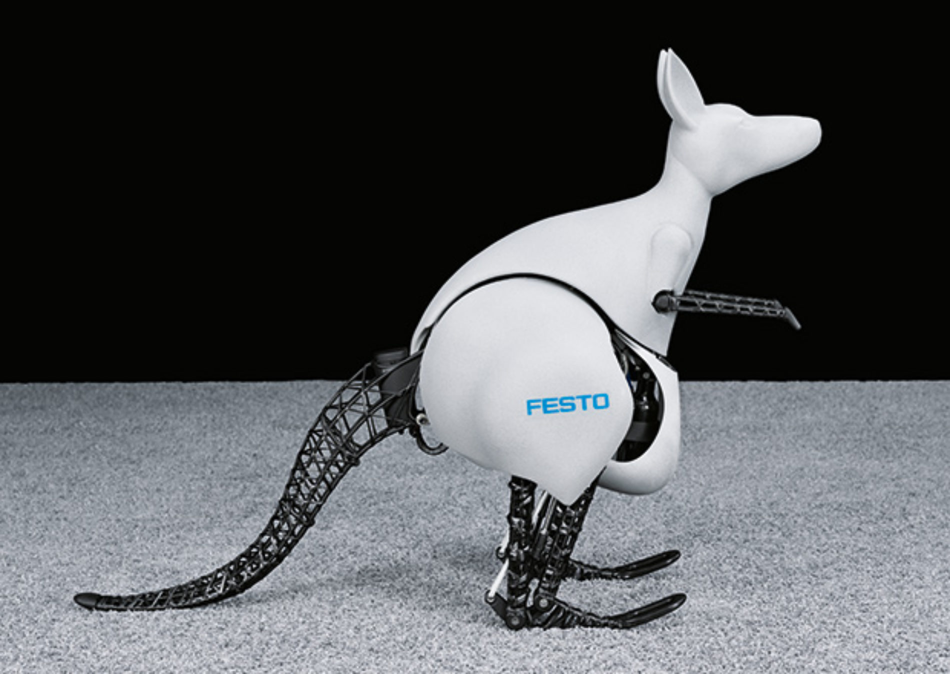 Festo's Newest Robot Is a Hopping Bionic Kangaroo