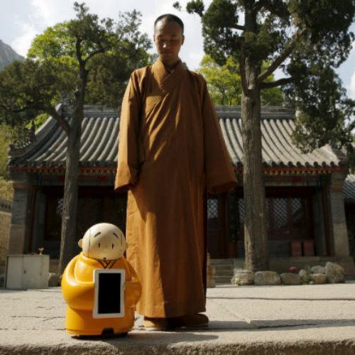 Robots as a spirituality guides?