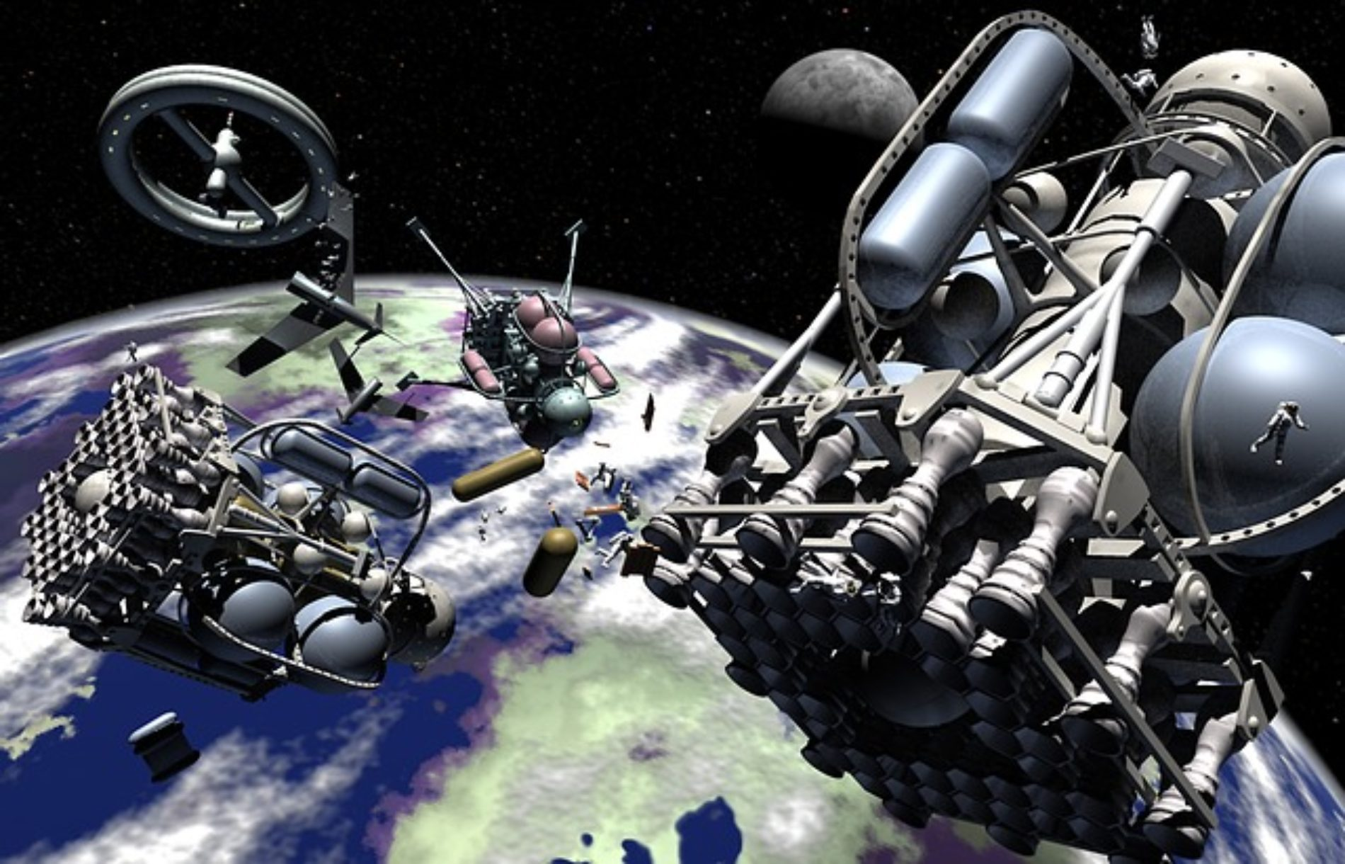 Help NASA create a flying space robot!