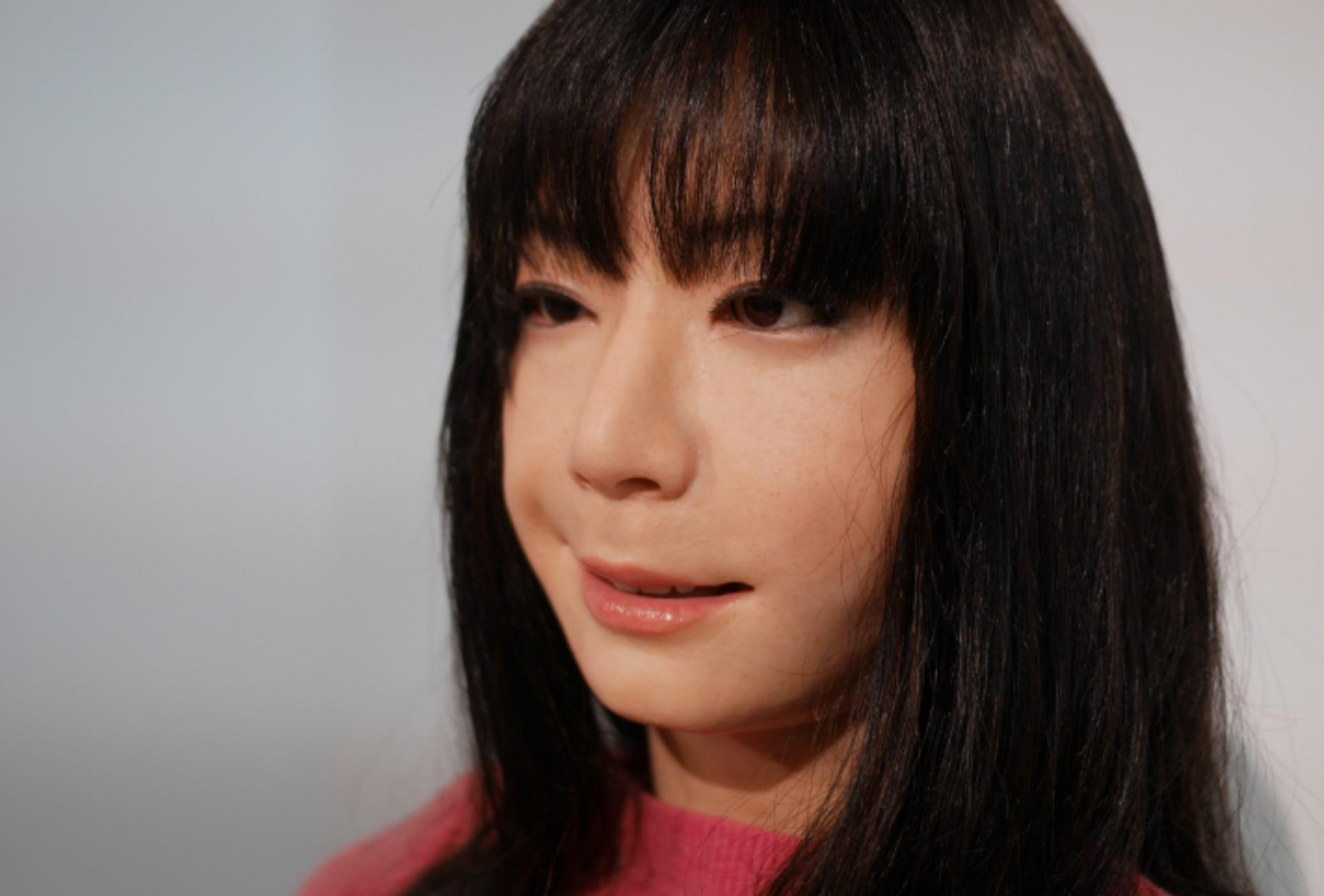 Erica Robot Holds Conversation