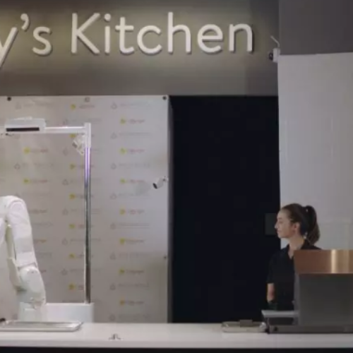 Flippy the Robot Kitchen Assistant