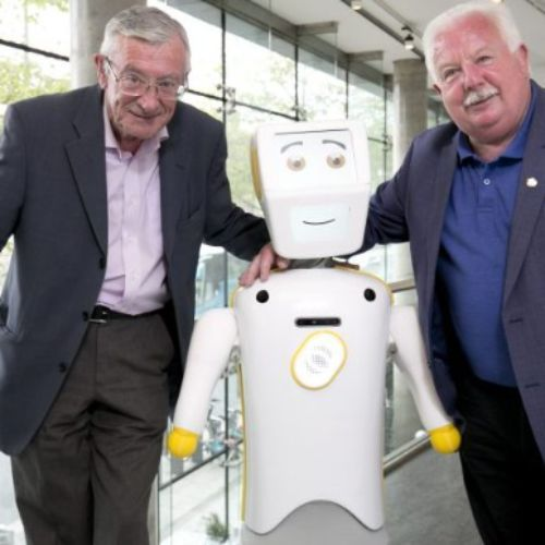 Competiton for The Japanese Robots to Help the Elderly, Stevie 11