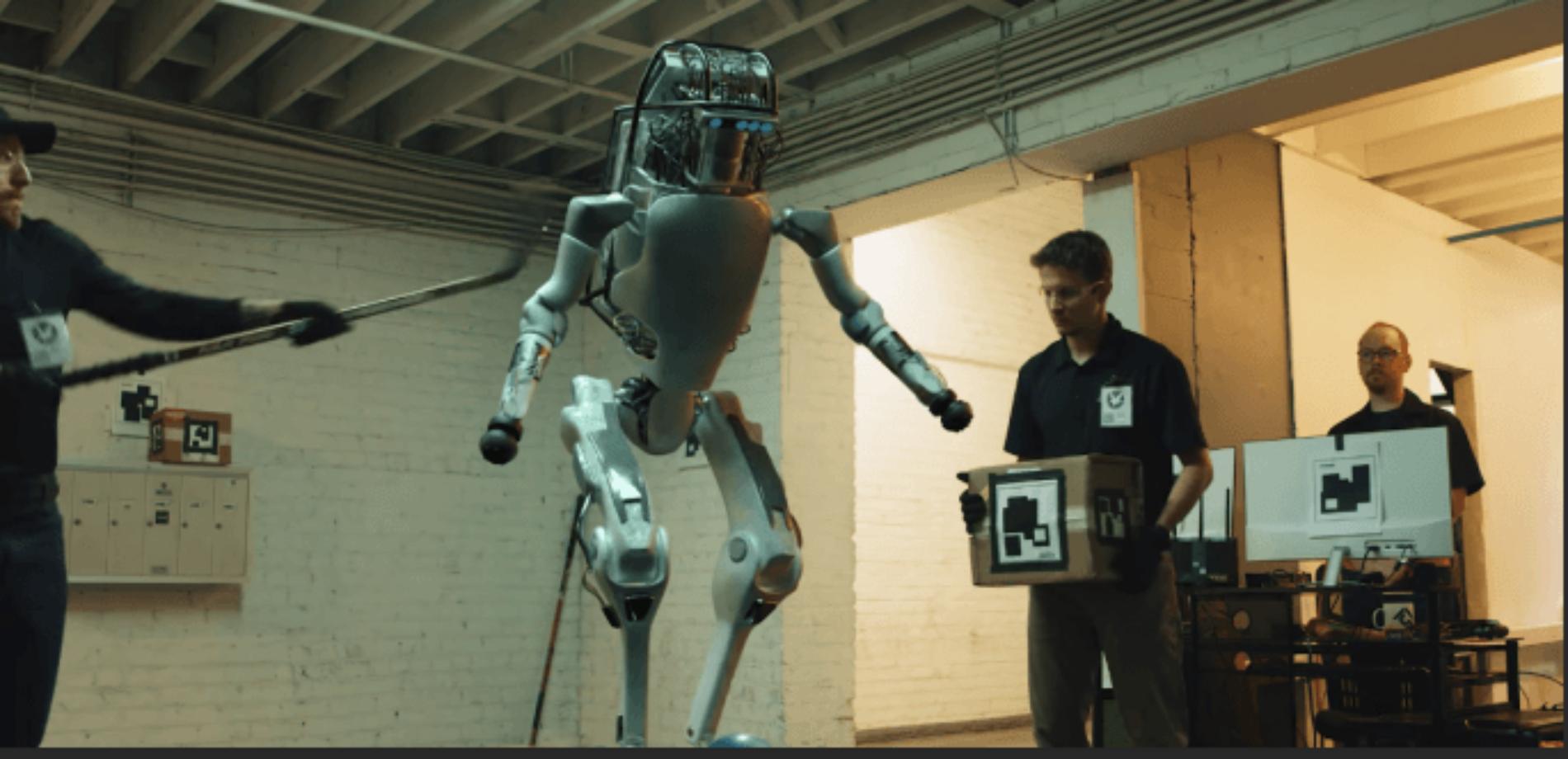 A Parody of Boston Dynamics Robots Fighting Back
