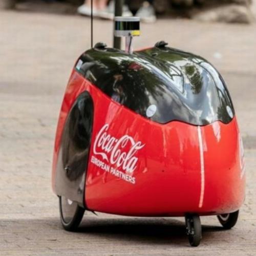 Coca Cola Delivery Autonomous Robots!