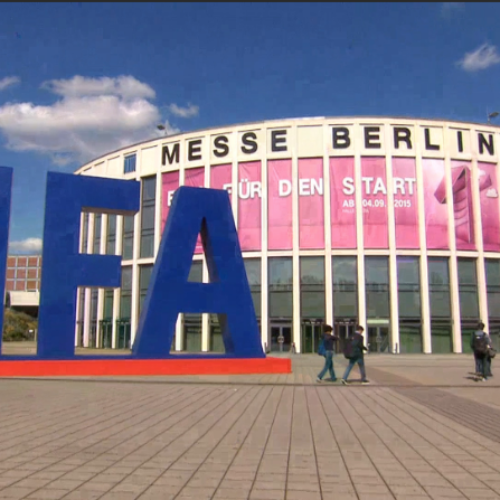 Berlin's IFA Tech Fair Shows Off New Robots